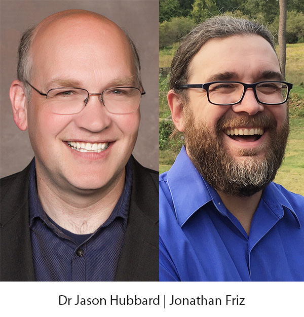 Dr Jason Hubbard and Jonathan Friz
